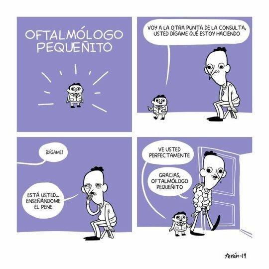 Otros - Las pruebas del oftalmólogo