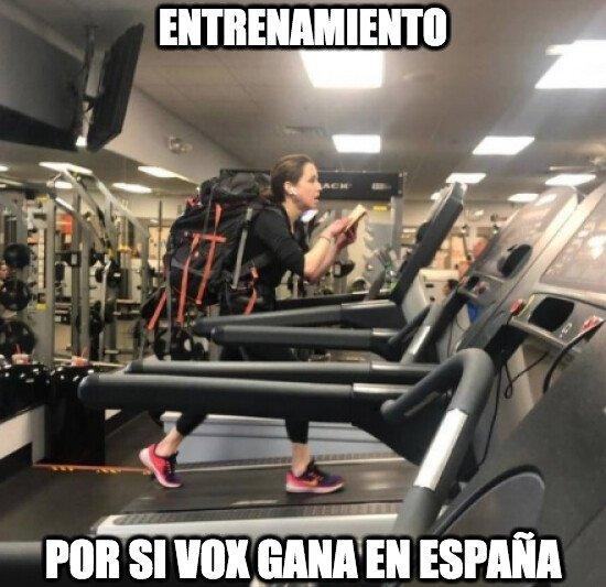 Meme_otros - El entrenamiento ha empezado