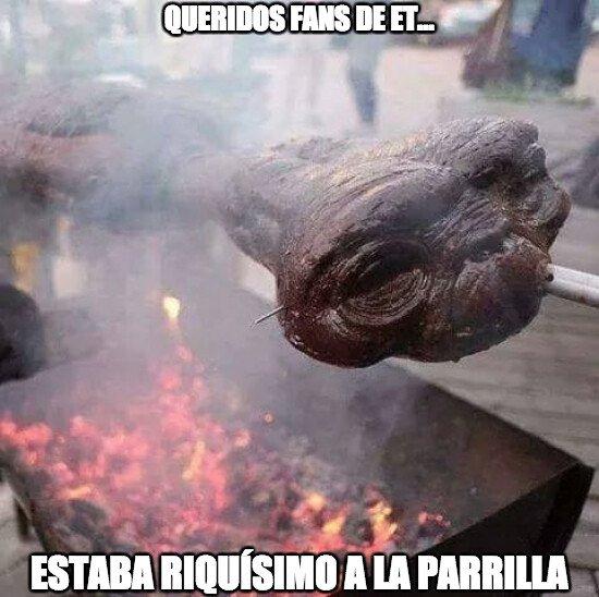 Meme_otros - Fue bonito disfrutar de ET en pantalla