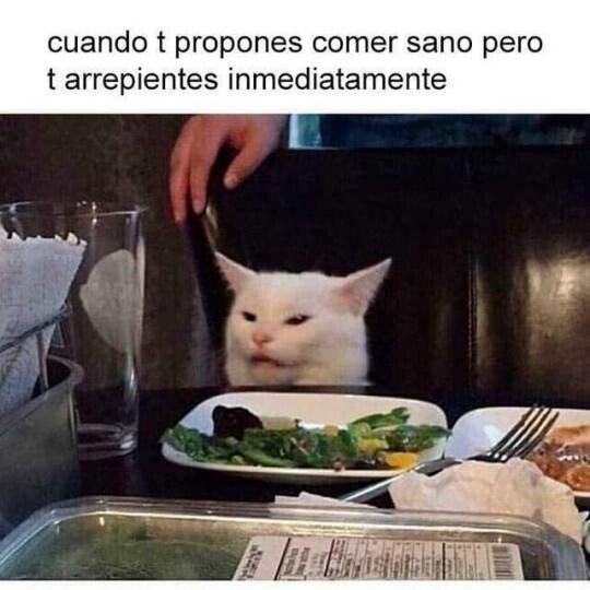 Meme_otros - Nada como la comida normal y grasienta