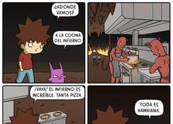 Enlace a La cocina del infierno es diabólica
