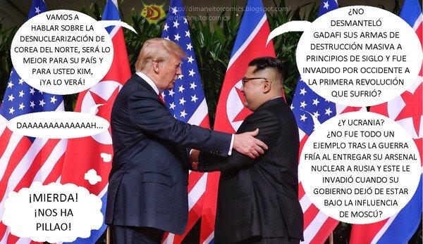 Otros - Trump y Kim conversan sobre la desnuclearización