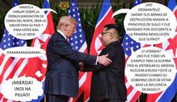 Enlace a Trump y Kim conversan sobre la desnuclearización