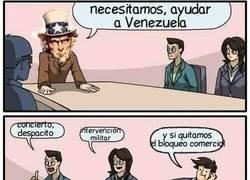 Enlace a Formas de ayudar a Venezuela