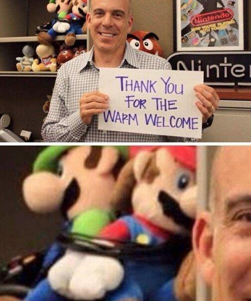Meme_otros - El jefe de Nintendo America ya está haciendo de las suyas