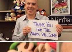 Enlace a El jefe de Nintendo America ya está haciendo de las suyas