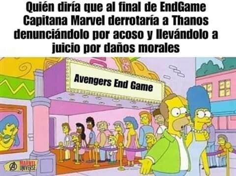 Meme_otros - Desvelado el final de Avengers: Endgame