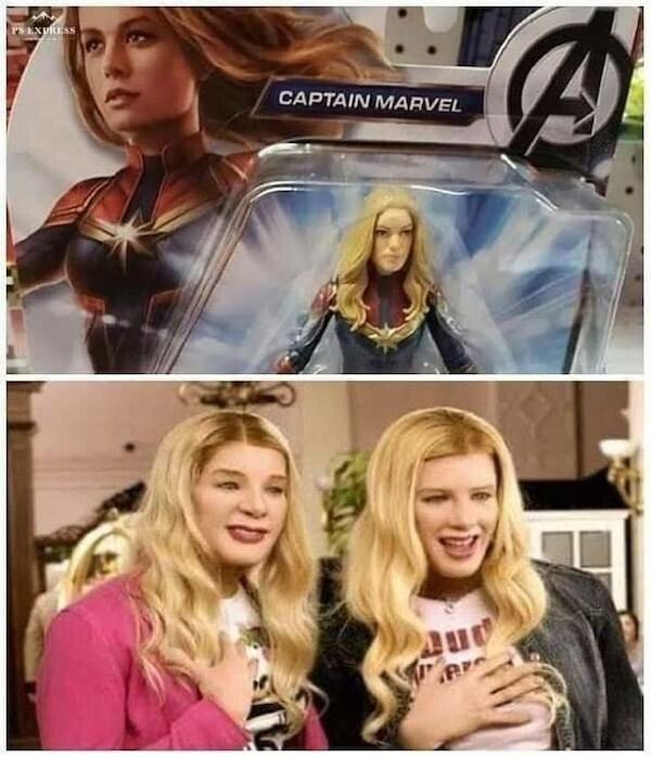 Otros - Creo que esta no es la Capitana Marvel...