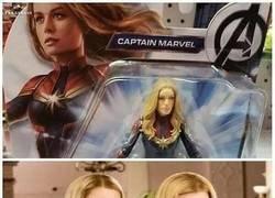 Enlace a Creo que esta no es la Capitana Marvel...