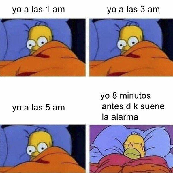 Meme_otros - Cuando llega la hora de despertarse llega el verdadero placer