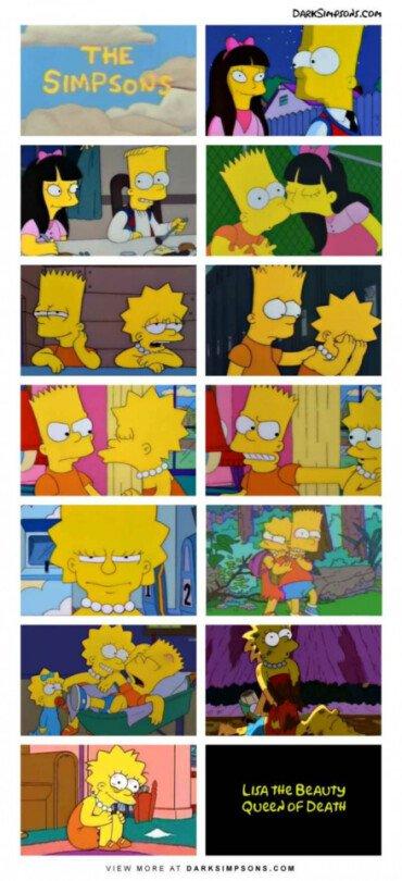 Otros - Un capítulo de Los Simpson con una trama muy loca