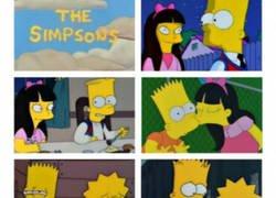 Enlace a Un capítulo de Los Simpson con una trama muy loca
