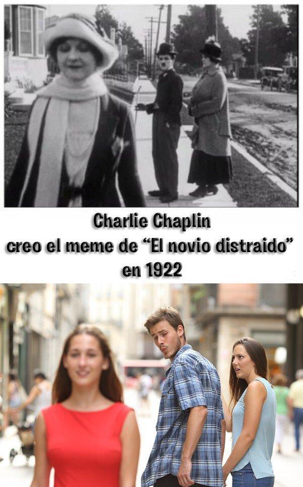Meme_otros - Charlie Chaplin, un adelantado a su época