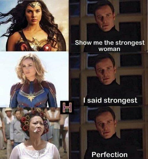 Meme_otros - La mujer más poderosa