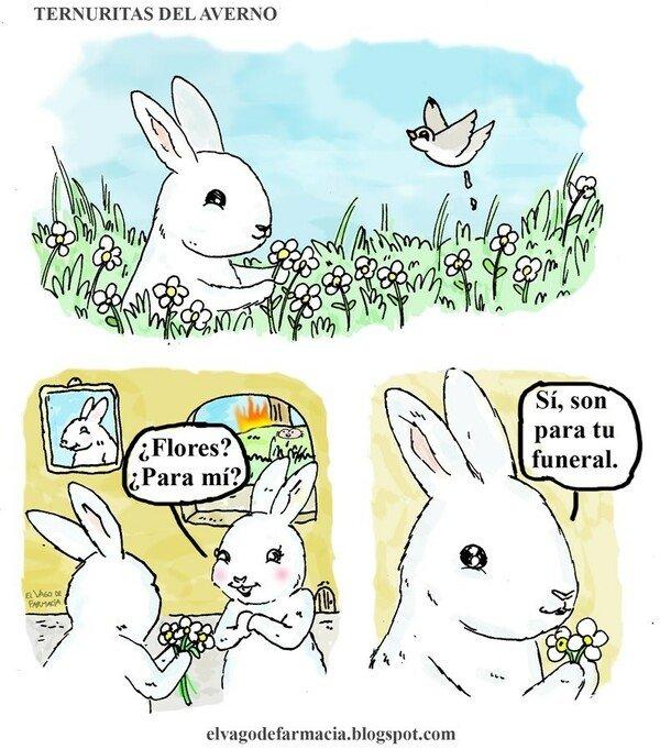 Otros - Un conejo muy malvado