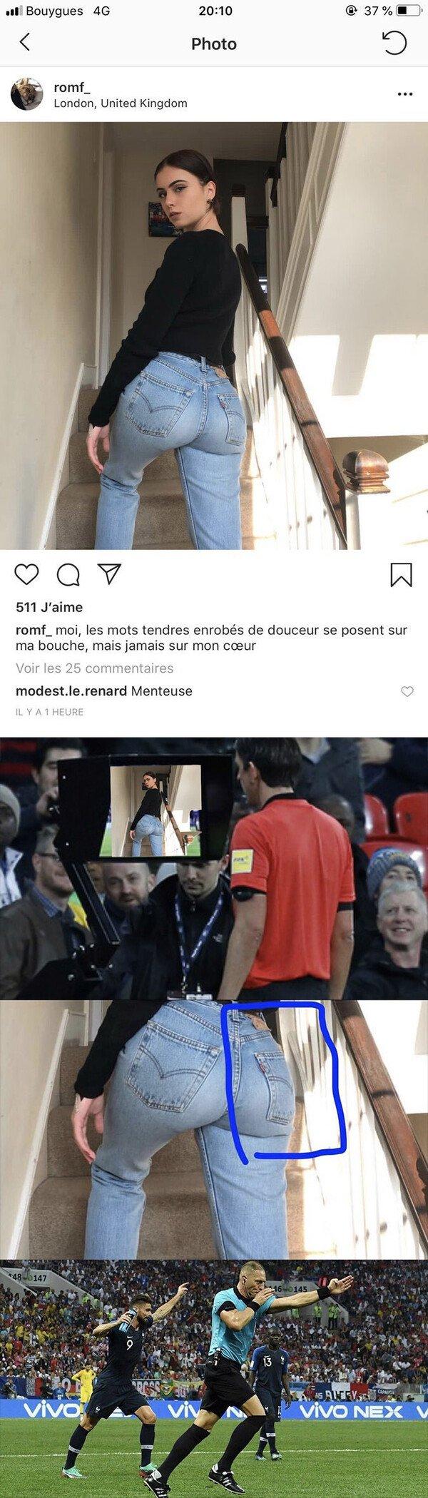 Meme_otros - Sube una foto mostrando su trasero y la gente se da cuenta de este detalle