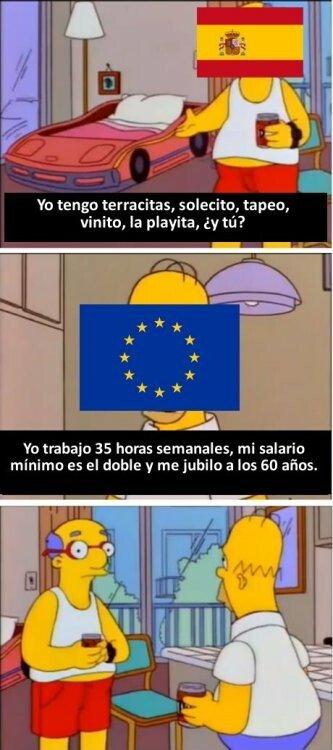 Meme_otros - Toda Europa se ríe de España