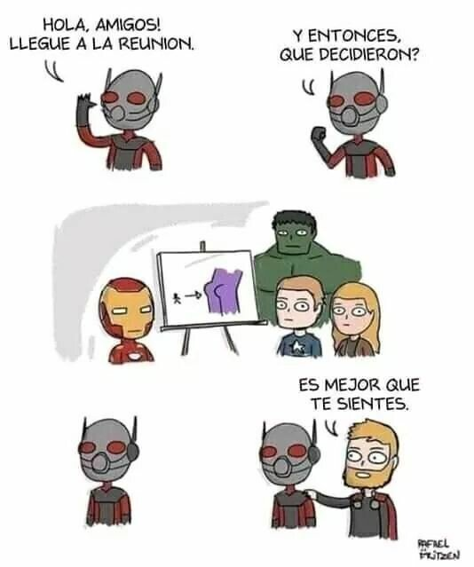 Otros - La gran misión de Antman