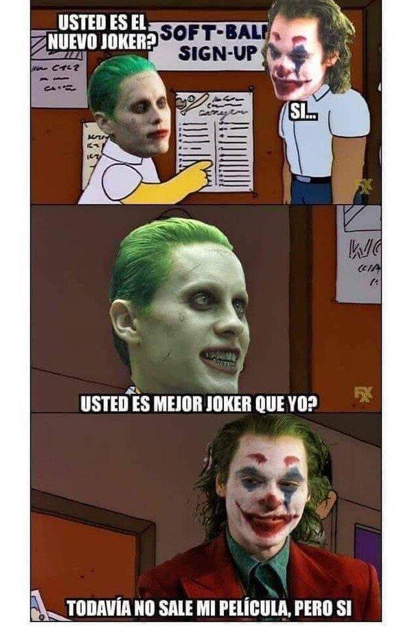 Meme_otros - El nuevo Joker lo peta mil más