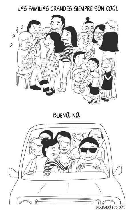 Otros - La familia numerosa es algo complicado
