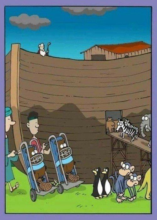 Otros - Peligro en el Arca de Noé
