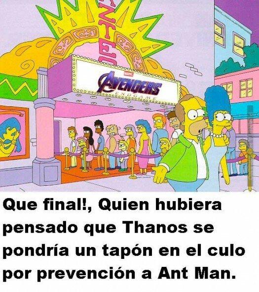 Meme_otros - Thanos tenía una táctica