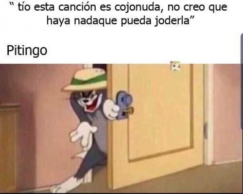 Meme_otros - Pitingo tiene una misión siempre