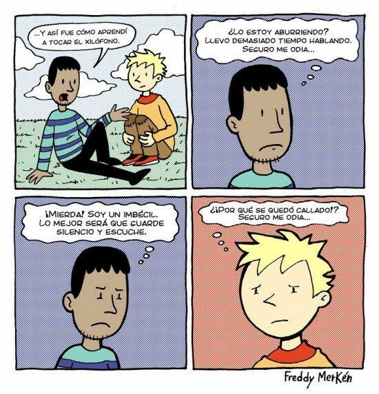 Otros - Siempre es complicado entender lo que piensa la otra persona cuando están converasndo