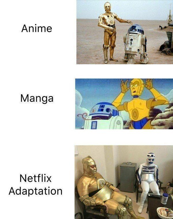 Meme_otros - En Netflix si no destrozan algo no están felices