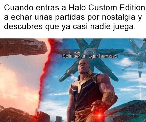 Halo,HaloCE,thanos