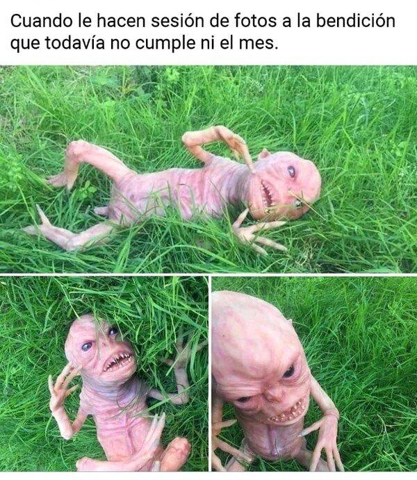 Meme_otros - Esos bebés son horrorosos