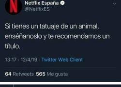 Enlace a Cuando Netflix te calla la boca de un plumazo