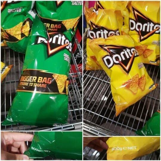 Meme_otros - Solo cambia el tamaño de la bolsa