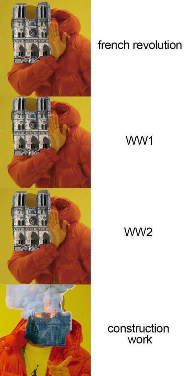 Meme_otros - Lo de Notre Dame es mala suerte...