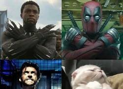 Enlace a Diferentes tipos de superhéroe