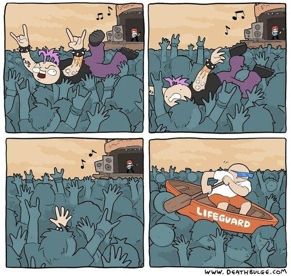 Otros - Emergencia en el concierto