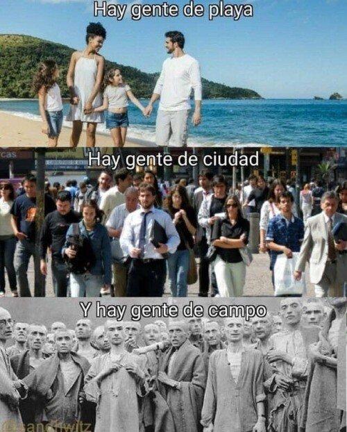Meme_otros - Diferentes tipos de destinos