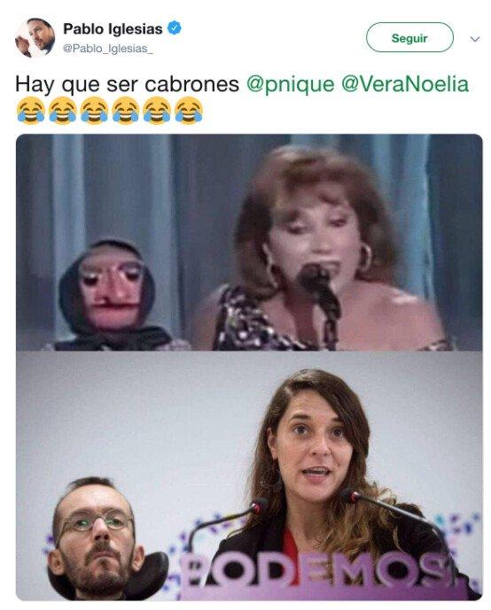 Meme_otros - El gran parecido que hay en Podemos con Doña Rogelia