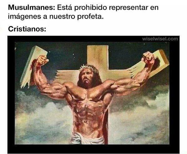 Meme_otros - Los cristianos mostrando todo su potencial