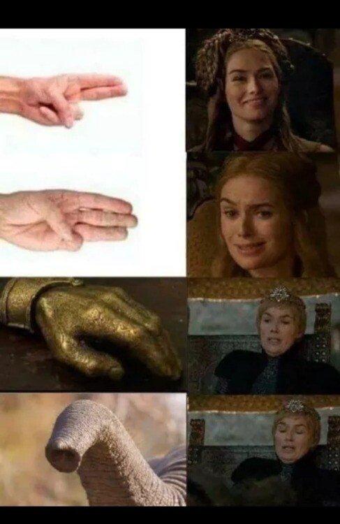 Meme_otros - Cersei sabe bien donde está el placer