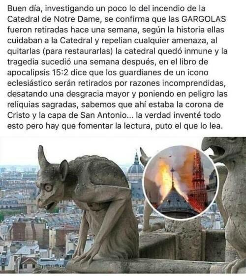 Meme_otros - Terrible lo que se ha descubierto sobre Notre Dame, oremos