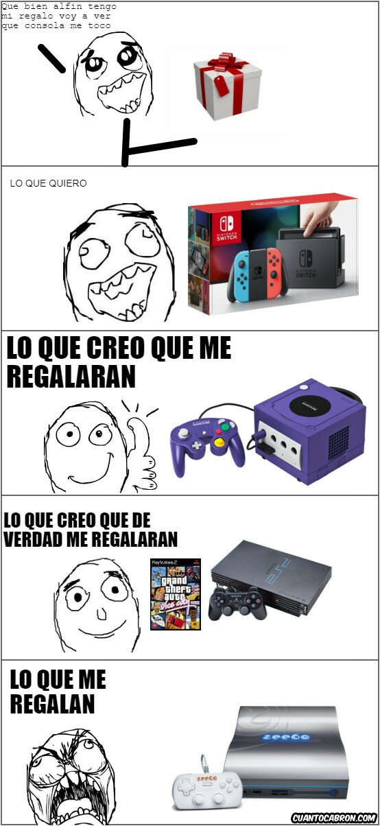 gamecube,gta,nintendo,ps2,rage guy,zeebo