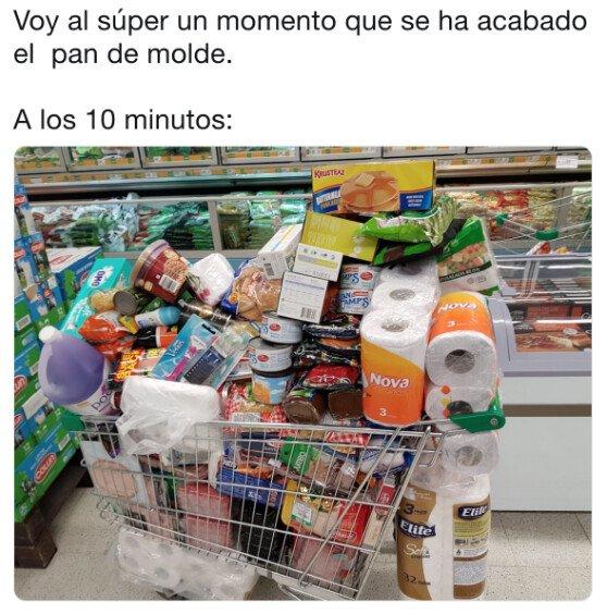 Meme_otros - Todo se desmadra en el supermercado