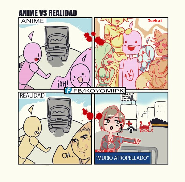 Lol - Anime Vs Realidad