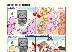 Enlace a Anime Vs Realidad