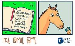 Enlace a Estoy muy triste por el caballo...