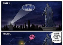 Enlace a Batman también tiene que ahorrar en la factura