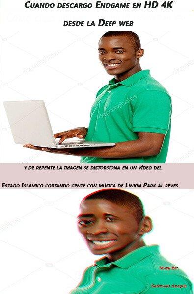 Meme_otros - Cuando la pobreza te obliga a piratear