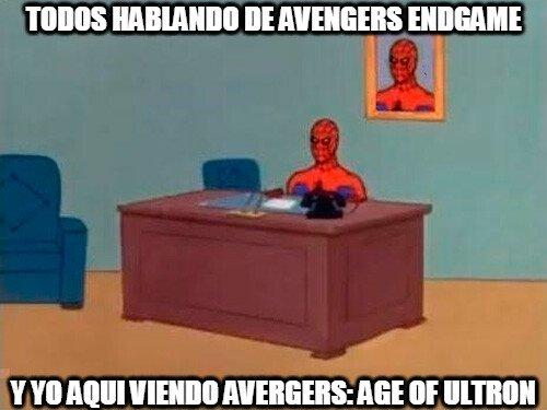 Spiderman60s - No todos vamos al día