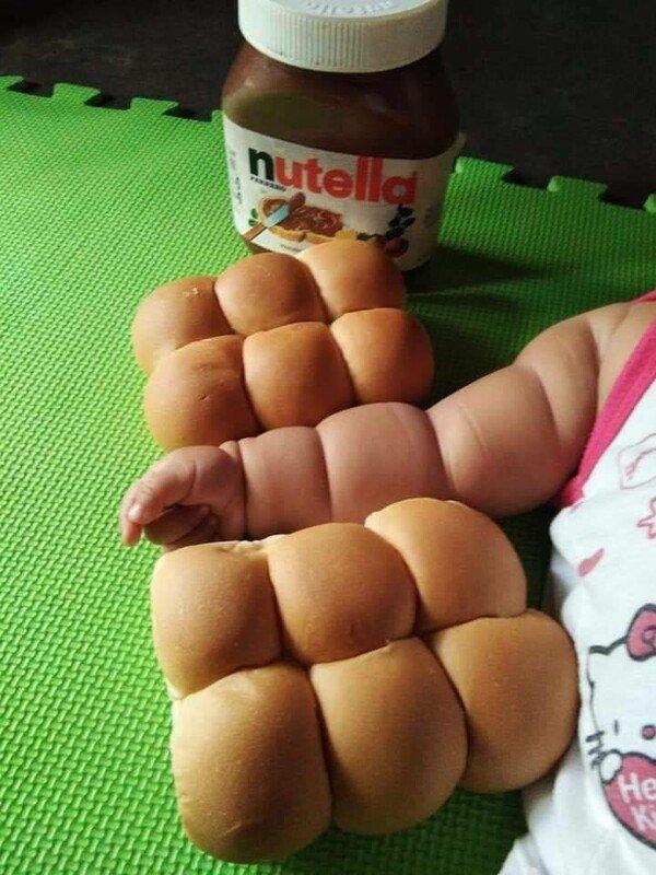 Meme_otros - Creo que se pasó de rosca tomando Nutella
